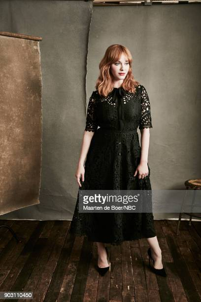 EVENTS NBCUniversal Portrait Studio January 2018 Pictured Christina Hendricks 'Good Girls'