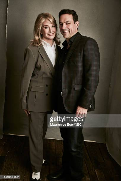 EVENTS NBCUniversal Portrait Studio January 2018 Pictured Deidre Hall Tyler Christopher 'Days of Our Lives'