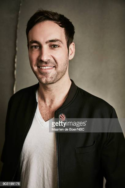 EVENTS NBCUniversal Portrait Studio January 2018 Pictured Jeff Dye 'Better Late Than Never'