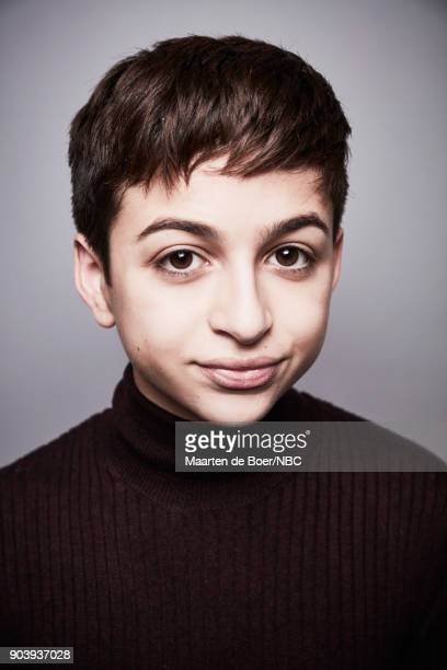 EVENTS NBCUniversal Portrait Studio January 2018 Pictured JJ Totah Champions