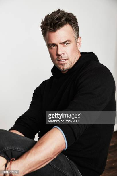 EVENTS NBCUniversal Portrait Studio January 2018 Pictured Josh Duhamel 'Unsolved'