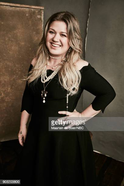 EVENTS NBCUniversal Portrait Studio January 2018 Pictured Kelly Clarkson