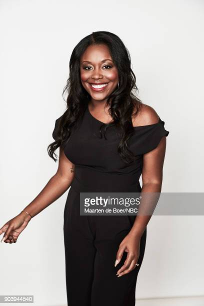 EVENTS NBCUniversal Portrait Studio January 2018 Pictured Lyric Lewis 'AP Bio'