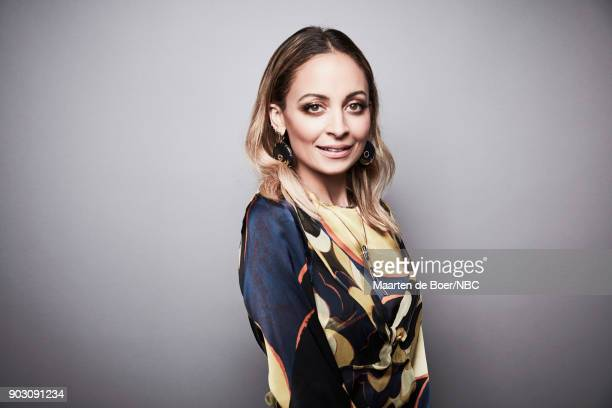 EVENTS NBCUniversal Portrait Studio January 2018 Pictured Nicole Richie