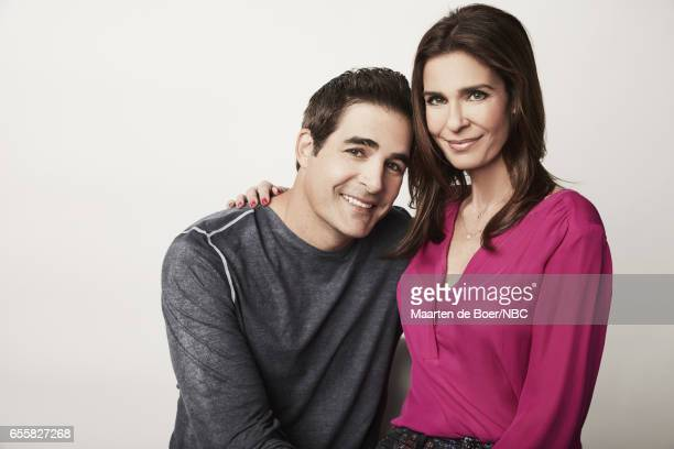 EVENTS NBCUniversal Portrait Studio March 2017 Pictured Galen Gering Kristian Alfonso 'Days of Our Lives' on March 20 2017 in Los Angeles California...