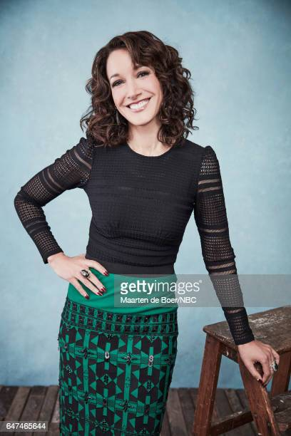 EVENTS NBCUniversal Portrait Studio March 2017 Pictured Jennifer Beals Taken at the Four Seasons Hotel New York