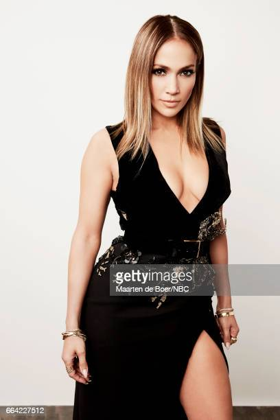 NBCUniversal Portrait Studio March 2017 Pictured Jennifer Lopez World of Dance on March 20 2017 in Los Angeles California NUP_177600 Photo by Maarten...