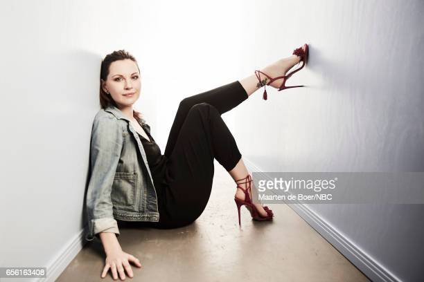 EVENTS NBCUniversal Portrait Studio March 2017 Pictured Jill Flint 'The Night Shift' on March 20 2017 in Los Angeles California NUP_177600