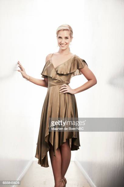 EVENTS NBCUniversal Portrait Studio March 2017 Pictured Kristine Leahy 'American Ninja Warrior' on March 20 2017 in Los Angeles California NUP_177600