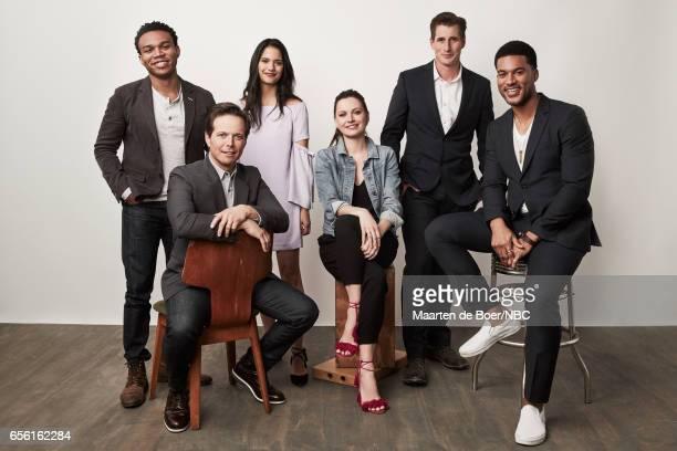 EVENTS NBCUniversal Portrait Studio March 2017 Pictured Robert Bailey Jr Scott Wolf Tanaya Beatty Jill Flint Brendan Fehr JR Lemon 'The Night Shift'...