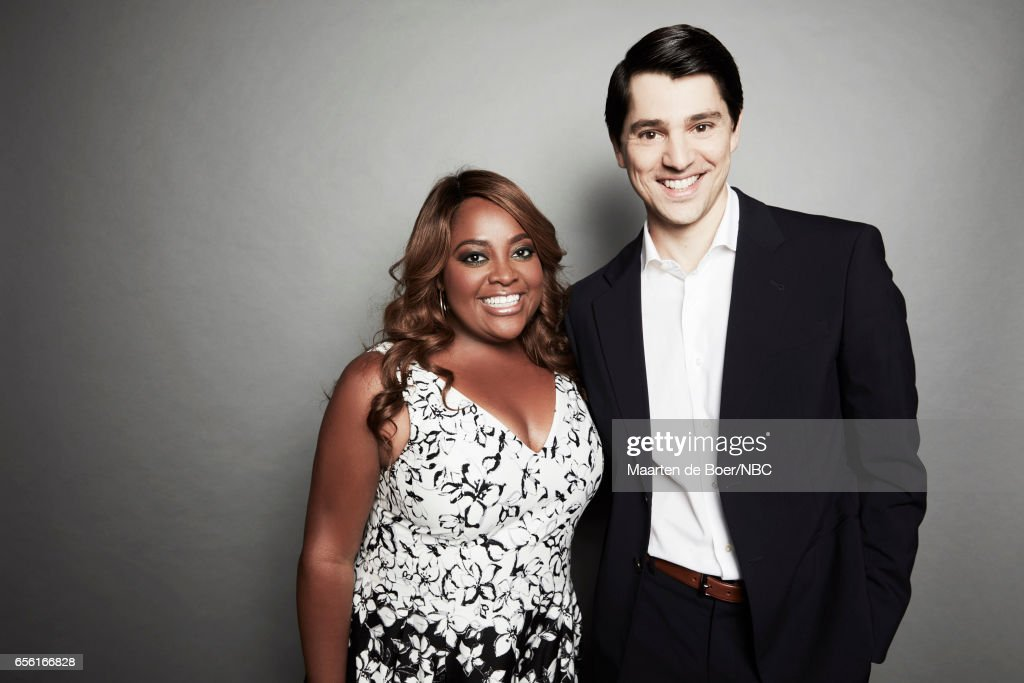 EVENTS -- NBCUniversal Portrait Studio, March 2017 -- Pictured: Sherri Shepherd, Nicholas D'Agosto 'Trial & Error' -- on March 20, 2017 in Los Angeles, California. NUP_177600