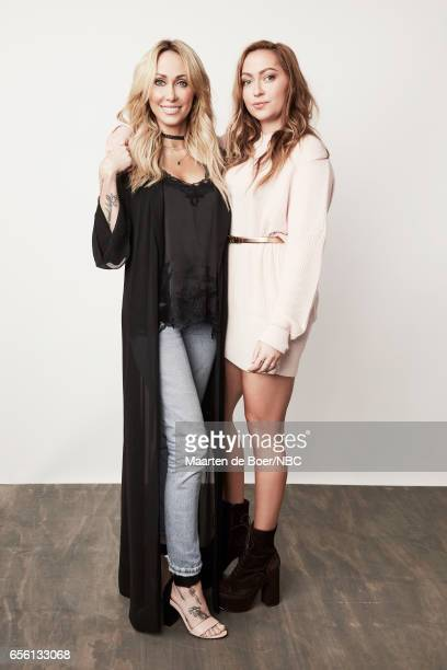 EVENTS NBCUniversal Portrait Studio March 2017 Pictured Tish Cyrus Brandi Cyrus 'Cyrus vs Cyrus Design and Conquer' on March 20 2017 in Los Angeles...