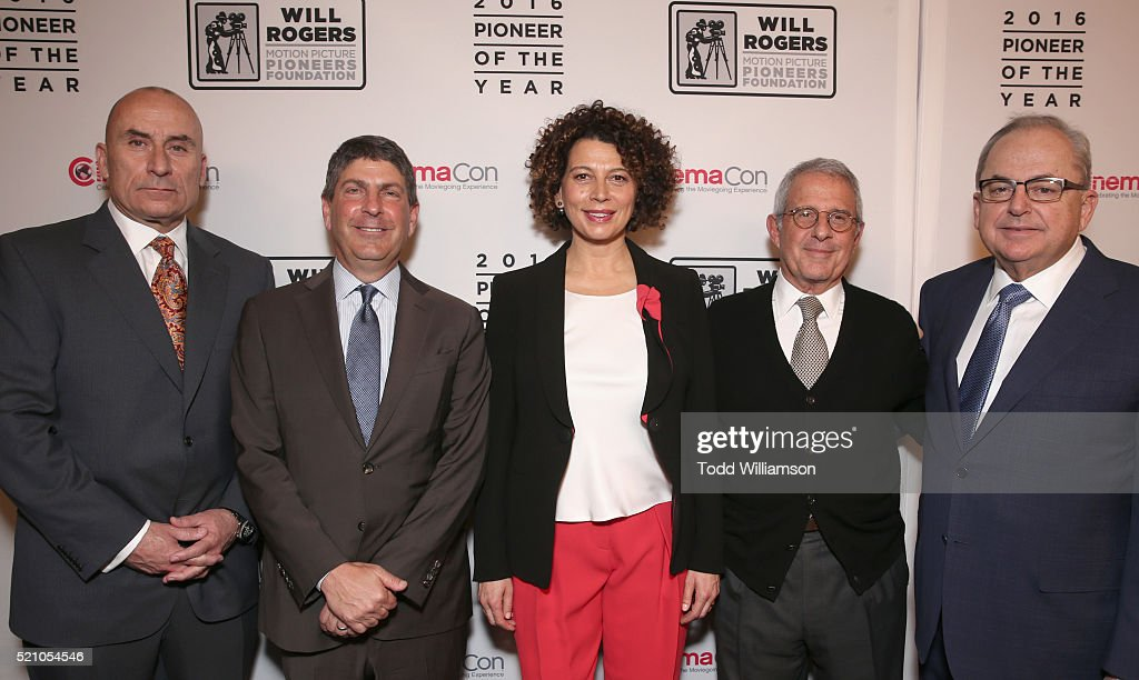 "CinemaCon 2016 - 2016 Will Rogers ""Pioneer Of The Year"" Dinner Honoring Donna Langley : News Photo"
