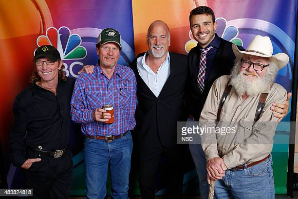 EVENTS NBCUniversal Press Tour August 2015 CNBC West Texas Investment Club Pictured Butch Gilliam Rooster McConaughey Jim Ackerman Senior Vice...