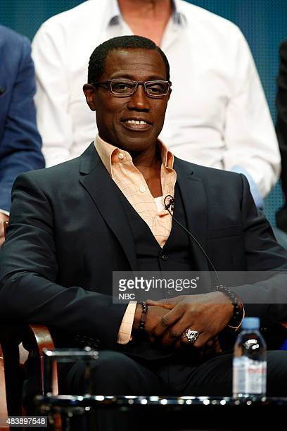 EVENTS NBCUniversal Press Tour August 2015 NBC's 'The Player' Session Pictured Wesley Snipes Star