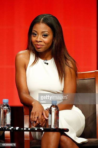 EVENTS NBCUniversal Press Tour August 2015 NBC's Truth Be Told Session Pictured Bresha Webb Star
