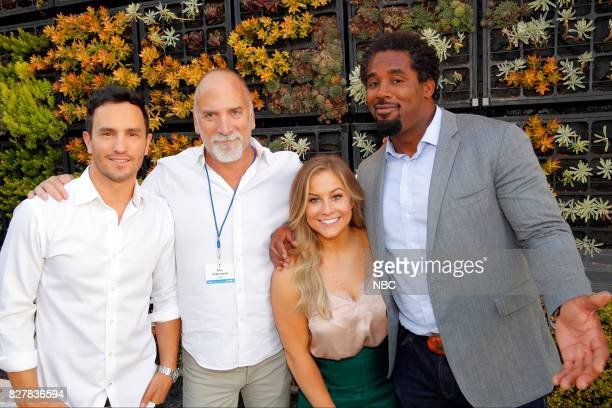 EVENTS NBCUniversal Press Tour August 2017 CNBC Cocktail Reception Pictured Jeremy Bloom Jim Ackerman Executive Vice President Primetime Alternative...