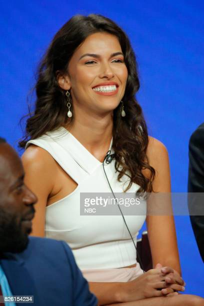EVENTS NBCUniversal Press Tour August 2017 NBC's 'The Brave' Pictured Sofia Pernas