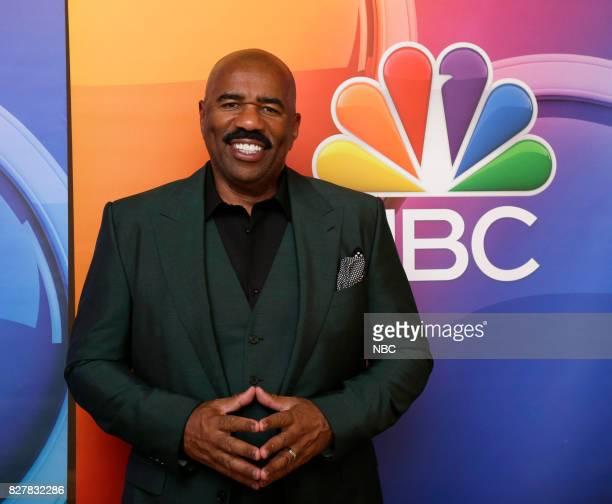 EVENTS NBCUniversal Press Tour August 2017 'STEVE' cast Pictured Steve Harvey Host/Executive Producer