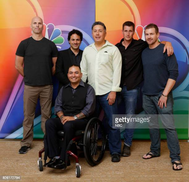 EVENTS NBCUniversal Press Tour August 2017 'The Night Shift' cast Pictured Jeff Judah Executive Producer/Creator Gabe Sachs Executive...