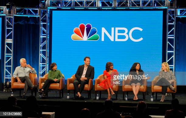 EVENTS NBCUniversal Press Tour August 2018 CNBC's 'Deal or No Deal' Panel Pictured Howie Mandel Host and Executive Producer Scott St John Executive...