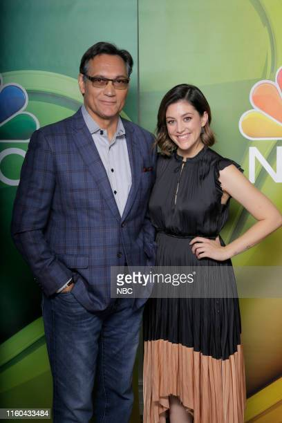 EVENTS NBCUniversal Press Tour August 2019 NBC's Bluff City Law Pictured Jimmy Smits Caitlin McGee