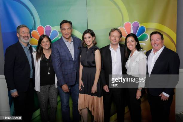 EVENTS NBCUniversal Press Tour August 2019 NBC's Bluff City Law Pictured Michael Aguilar Executive Producer Lisa Katz CoPresident NBC Entertainment...