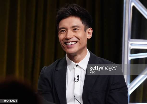 EVENTS NBCUniversal Press Tour August 2019 NBC's The Good Place Panel Pictured Manny Jacinto
