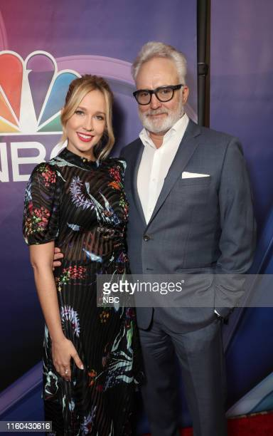 EVENTS NBCUniversal Press Tour August 2019 Red Carpet Pictured Anna Camp Bradley Whitford Perfect Harmony