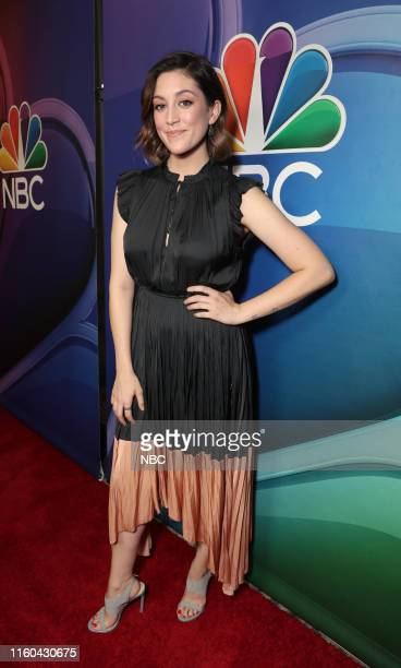 EVENTS NBCUniversal Press Tour August 2019 Red Carpet Pictured Caitlin McGee Bluff City Law