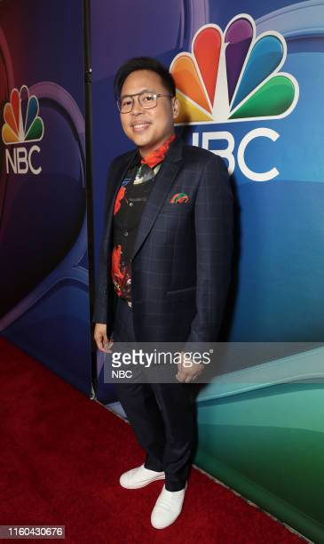 EVENTS NBCUniversal Press Tour August 2019 Red Carpet Pictured Nico Santos Superstore