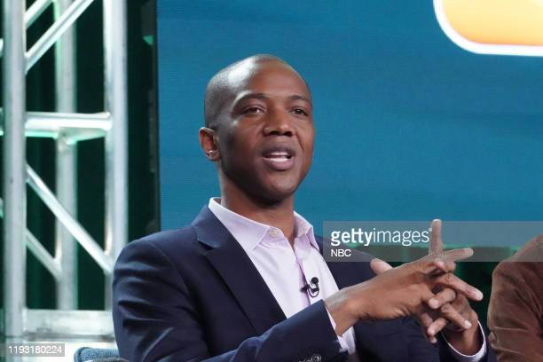EVENTS NBCUniversal Press Tour January 11 2020 NBC's Council of Dads Session Pictured J August Richards