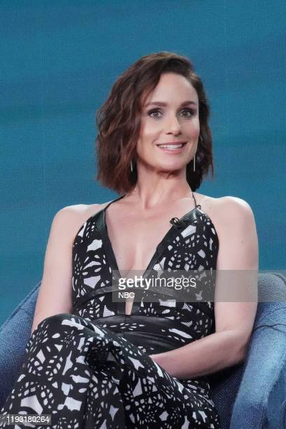 EVENTS NBCUniversal Press Tour January 11 2020 NBC's Council of Dads Session Pictured Sarah Wayne Callies