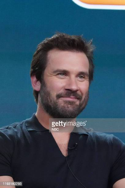 EVENTS NBCUniversal Press Tour January 11 2020 NBC's Council of Dads Session Pictured Clive Standen