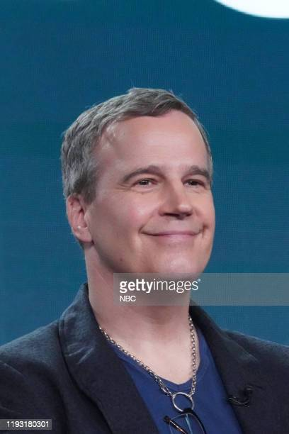 EVENTS NBCUniversal Press Tour January 11 2020 NBC's Council of Dads Session Pictured Tony Phelan Executive Producer
