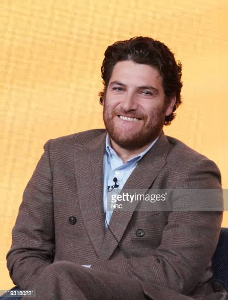 EVENTS NBCUniversal Press Tour January 11 2020 NBC's Indebted Session Pictured Adam Pally