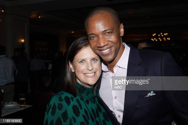 EVENTS NBCUniversal Press Tour January 11 2020 NBCUniversal Party Pictured Lisa Katz CoPresident Scripted Programing NBC Entertainment J August...