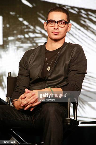 EVENTS NBCUniversal Press Tour January 2013 Graceland Pictured Manny Montana