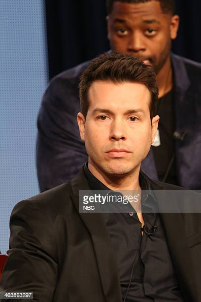 EVENTS NBCUniversal Press Tour January 2014 Chicago PD Session Pictured Jon Seda