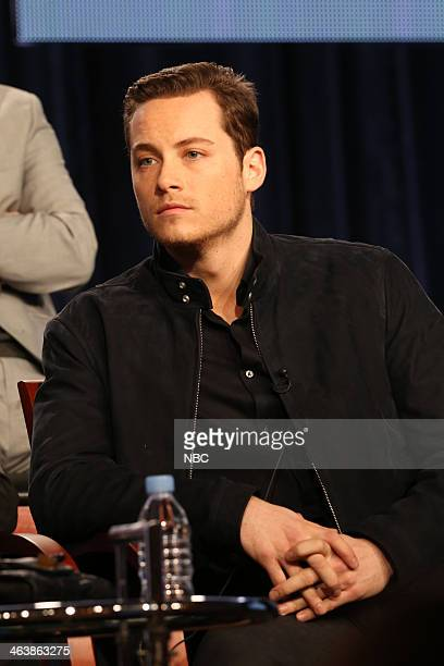 EVENTS NBCUniversal Press Tour January 2014 Chicago PD Session Pictured Jesse Lee Soffer