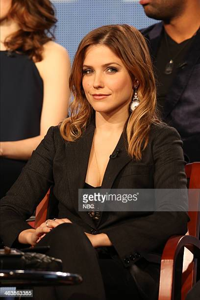 EVENTS NBCUniversal Press Tour January 2014 Chicago PD Session Pictured Sophia Bush