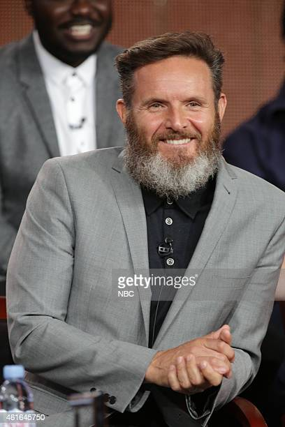EVENTS NBCUniversal Press Tour January 2015 AD The Bible Continues Session Pictured Mark Burnett Executive Producer