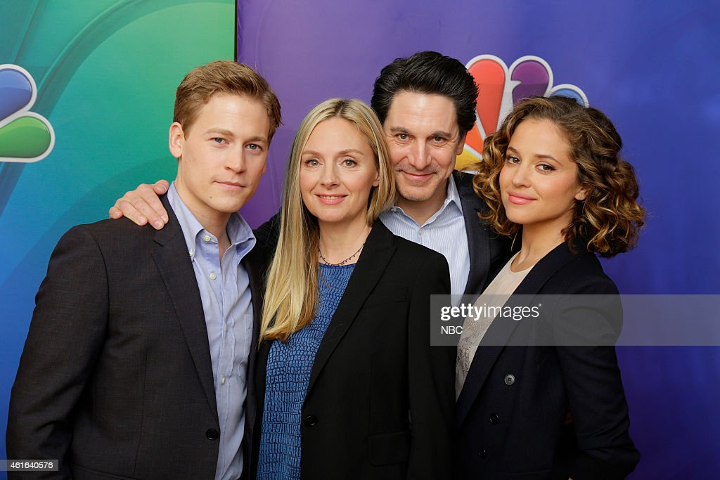 EVENTS -- NBCUniversal Press Tour, January 2015 -- 'Allegiance' -- Pictured: (l-r) Gavin Stenhouse, Hope Davis, Scott Cohen, Margaret Levieva --