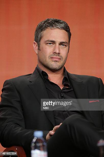 EVENTS NBCUniversal Press Tour January 2015 Chicago Fire/Chicago PD Session Pictured Taylor Kinney