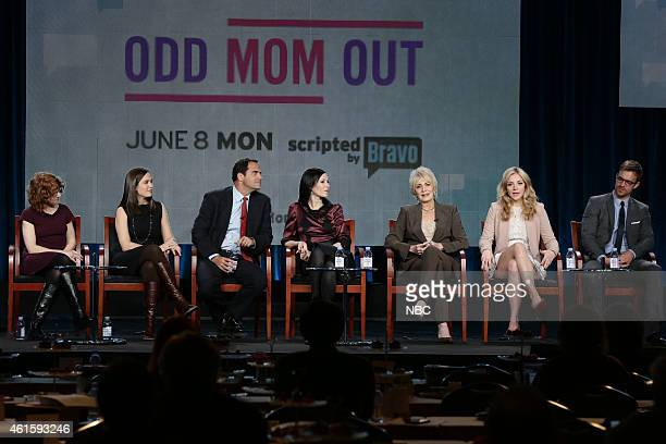EVENTS NBCUniversal Press Tour January 2015 Odd Mom Out Session Pictured Julie Rottenberg Executive Producer Elisa Zuritsky Executive Producer Andy...