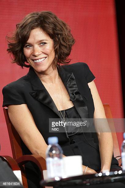 """NBCUniversal Press Tour, January 2015 -- """"Odyssey"""" Session -- Pictured: Anna Friel --"""