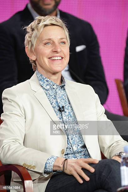 EVENTS NBCUniversal Press Tour January 2015 One Big Happy Session Pictured Ellen DeGeneres Executive Producer