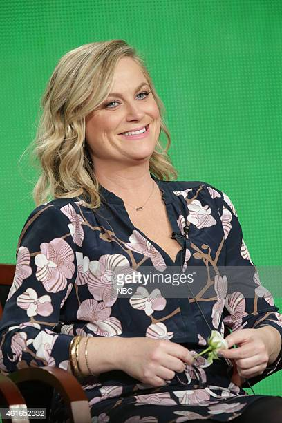 EVENTS NBCUniversal Press Tour January 2015 'Parks and Recreation' Session Pictured Amy Poehler