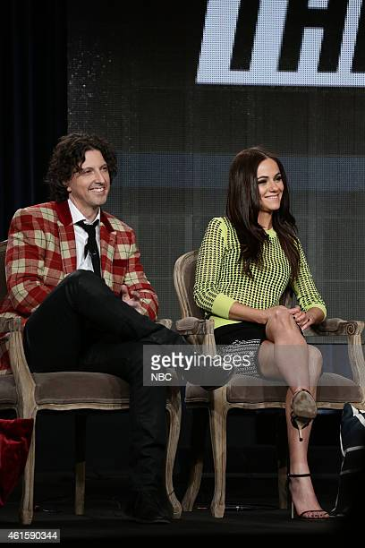 EVENTS NBCUniversal Press Tour January 2015 'The Royals' Session Pictured Mark Schwahn Executive Producer Alexandra Park