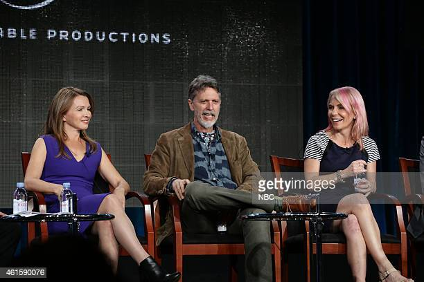 EVENTS NBCUniversal Press Tour January 2015 Universal Cable Productions Showrunners Session Pictured Natalie Chaidez Showrunner Executive Producer 12...